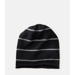 Striped Cashmere Hat - JackSpade