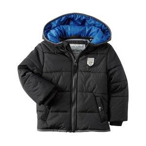 Kid Boy Fleece-Lined Puffer Jacket   Carters.com