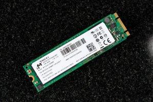 $49.99可邮寄Micron M600 M.2 SATA III MLC 256GB 固态硬盘