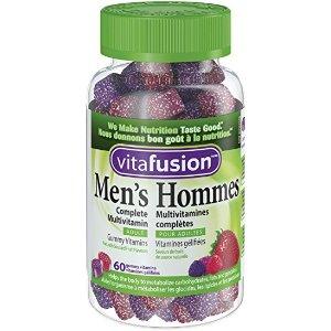 Vitafusion 男士综合维生素软糖 60颗
