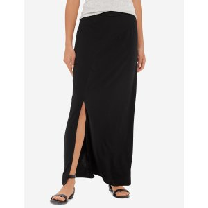 Curved Inset Maxi Skirt | Women's Skirts | THE LIMITED