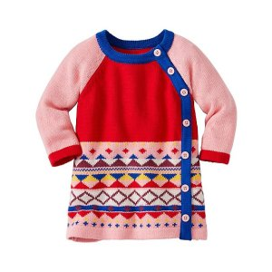 Baby All Is Bright Sweater Dress | Baby Sale Dress