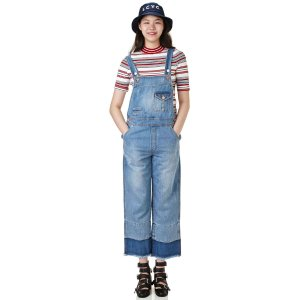 [JDC pour Lucky] Denim overall jumpsuit