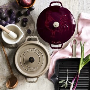 Ends Tonight! Special Pricing onStaub & Le Creuset Favorites @ Williams Sonoma