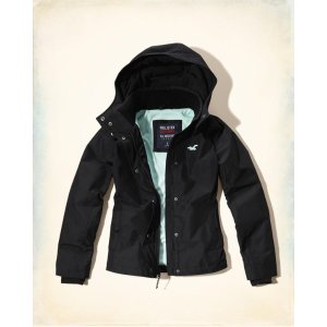 Girls Hollister All-Weather Fleece Lined Jacket | Girls Clearance | HollisterCo.com