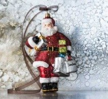 Free Santa Ornament With Your $150+ Spend in Holiday Glories @ Neiman Marcus
