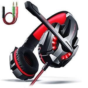 $16.09 AOSO 3.5mm LED Lighting Stereo Over-Ear Headphone