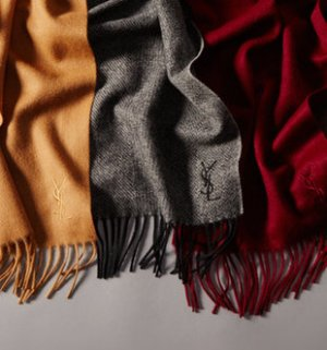 Starting at $69! Yves Saint Laurent Scarves @ Gilt
