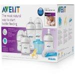 Philips Avent Natural Newborn Baby Bottle Starter Set, BPA-Free