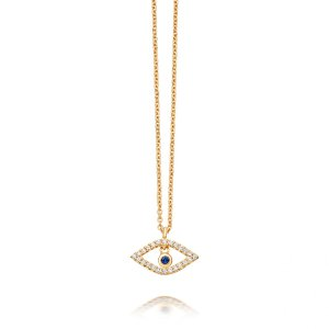 Evil Eye Fine Biography Pendant | Astley Clarke London