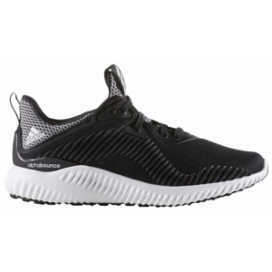 adidas Alphabounce - Boys' Grade School - Running - Shoes - Black/White/Black