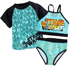 Star Wars Swim Set for Girls - 3-Pc. | Disney Store