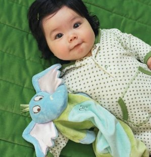 Manhattan Toy Dr. Seuss Horton Baby Tactile Snuggle Blankie