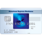 The Blue for Business® Credit Card from American Express. Terms Apply.