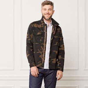 Camo Riverton Shirt Jacket - JackSpade