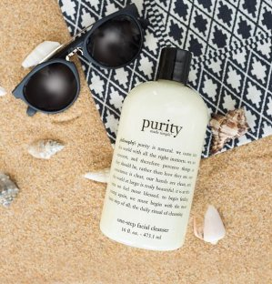 30% Off purity made simple one-step facial cleanser @ philosophy