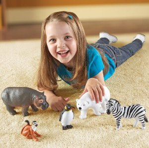 $20.06(reg.$29.99) Learning Resources Jumbo Zoo Animals