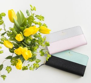 From $60 Wallets Sale @ kate spade new york