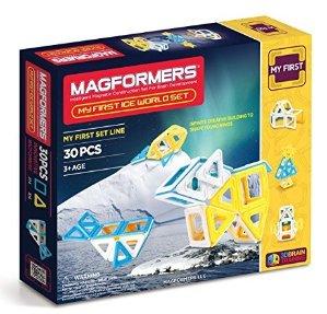 $22.16Magformers 冰雪世界3D磁性建筑玩具30片装