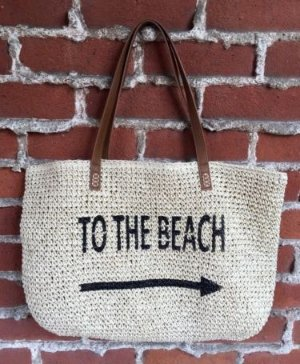 Style & Co. Straw Beach Bag Sale @ macys.com