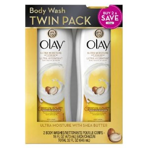 Olay Ultra Moisture Body Wash with Shea Butter, 16 Oz, 2 Ct | Jet.com