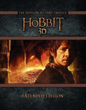 $34.45 The Hobbit Trilogy - Extended Edition [Blu-ray 3D]