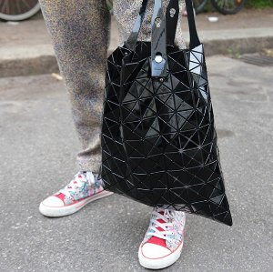 BAO BAO ISSEY MIYAKE Lucent Small Tote @ Otte