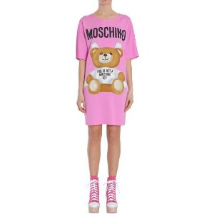 Moschino Abito T-shirt In Cady Women