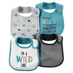 4-Pack Teething Bibs | Carters.com