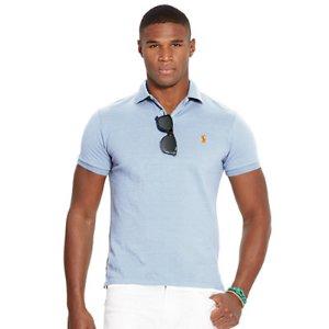 Classic-Fit Mesh Polo Shirt - Classic Fit � Polo Shirts - RalphLauren.com