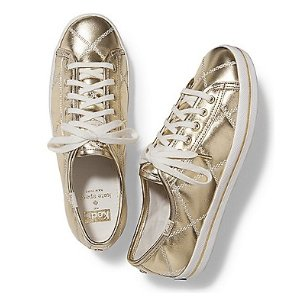 KEDS X kate spade new york KICKSTART QUILTED LEATHER