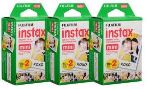 $27.74 Fujifilm Instax Mini Instant Film, 2 x 10 Shoots x 3Pack
