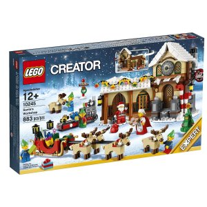$54.99 LEGO Creator Expert Santa's Workshop