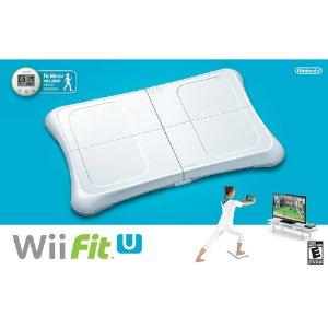 Nintendo Wii Fit U Bundle with Balance Board & Fit Meter (Wii U)