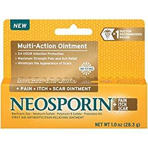 $8.05 Neosporin Pain/Itch/Scar Multi-Action Ointment, 1 Ounce