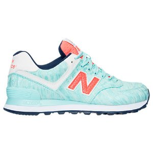 Women's New Balance 574 Summer Waves Casual Shoes| Finish Line