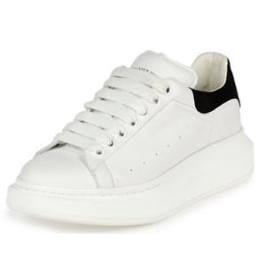 Alexander McQueen Leather Low-Top Sneaker