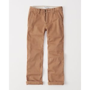 boys classic chino pants | boys clearance | Abercrombie.com