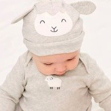 50% Off + Extra 20% off $50Free Shipping! Baby Neutral Sale @ Carter's