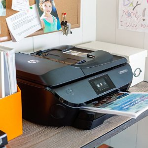 $99.99 HP OfficeJet 5741 Wireless Color Inkjet All-In-One Printer, Scanner, Copier, Fax