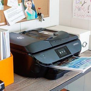 $99.99HP OfficeJet 5741 Wireless Color Inkjet All-In-One Printer, Scanner, Copier, Fax