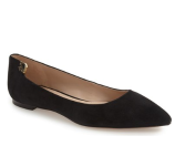 Tory Burch 'Elizabeth' Pointy Toe Flat (Women) | Nordstrom