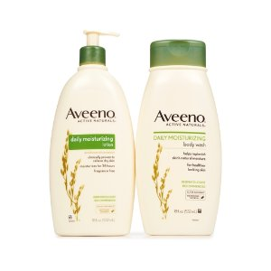Aveeno Active Naturals Daily Moisturizing 2 x 18 oz. Lotion + Body Wash