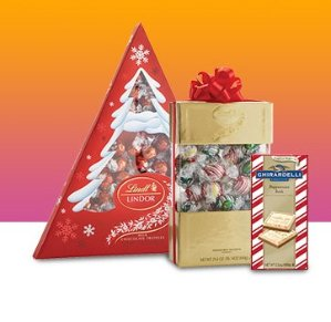Buy 2, Get 1 Free Lindt & Ghirardelli Chocolates @ Amazon