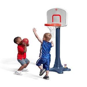 Start! $19.99 Step2 Shootin Hoops Junior Basketball Set