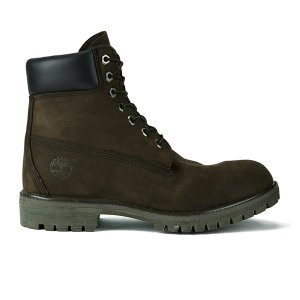 Timberland Men's Icon 6 Inch Premium FTB Leather Boots - Dark Chocolate - FREE UK Delivery