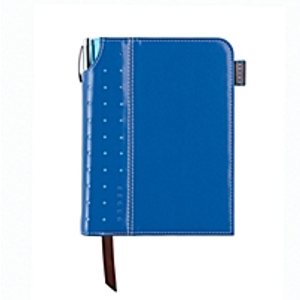 Small Blue Signature Journal with Pen