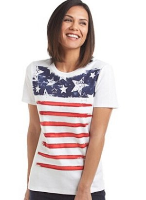 Studio Works® O'glory Printed Tee @ Bon-Ton