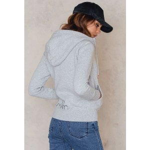 Halle Zip Thru Sweatshirt