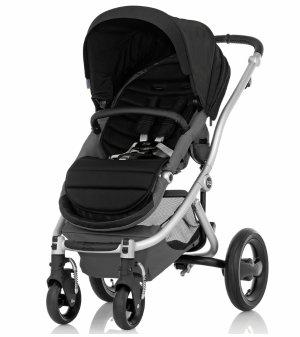 Britax Affinity Stroller, Silver - Black